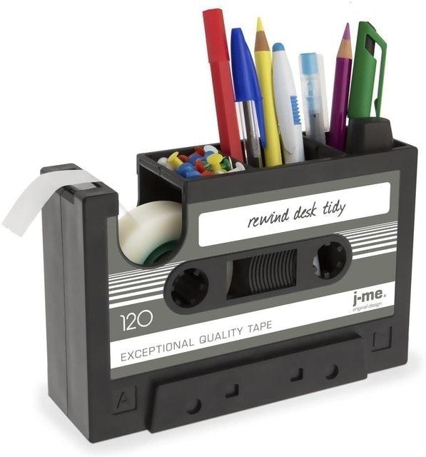 Milcraft Cassette Tape Dispenser and Pen Holder 1