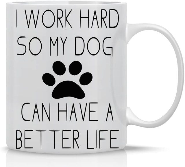 Gifts for Dog Lovers AW Fashion Funny Dog Lovers Mug 1