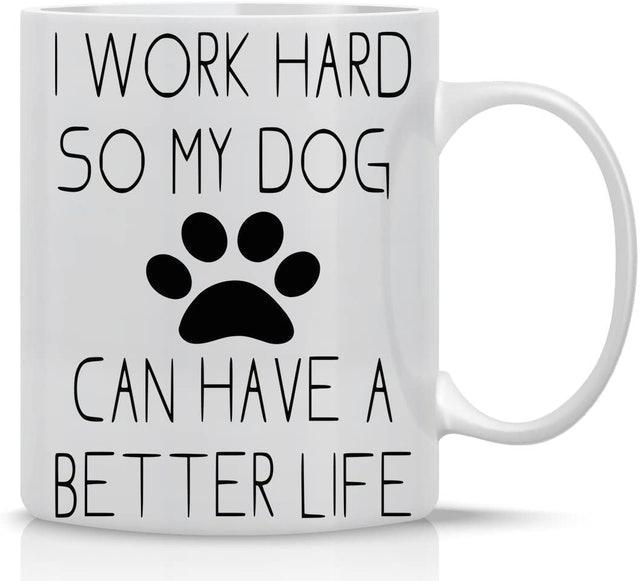 Gifts for Dog Lovers AW Fashion Funny Dog Lovers Mug 1