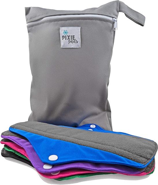 Pixie Cup Soft Reusable Menstrual Pads 1