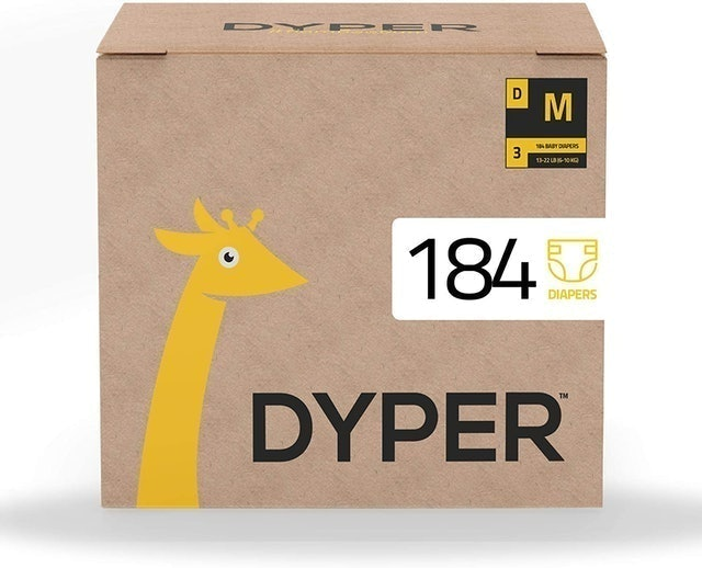 Dyper Responsibly Sourced Bamboo Baby Diapers 1