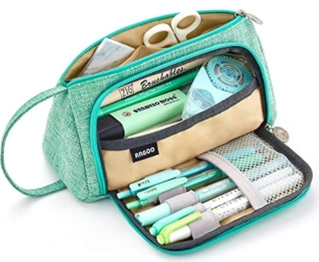 Easthill Large Capacity Pencil Pen Case Bag 1