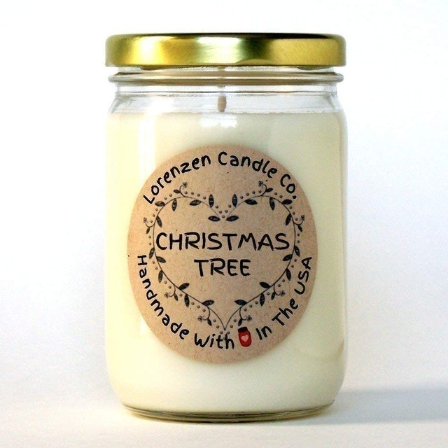 Lorenzen Candle Co Christmas Tree Soy Candle 1