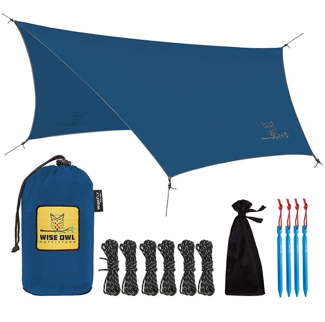Wise Owl Outfitters Rain Fly Tarp  1