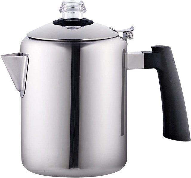 Cook N Home 8-Cup Stainless Steel Stovetop Coffee Percolator 1