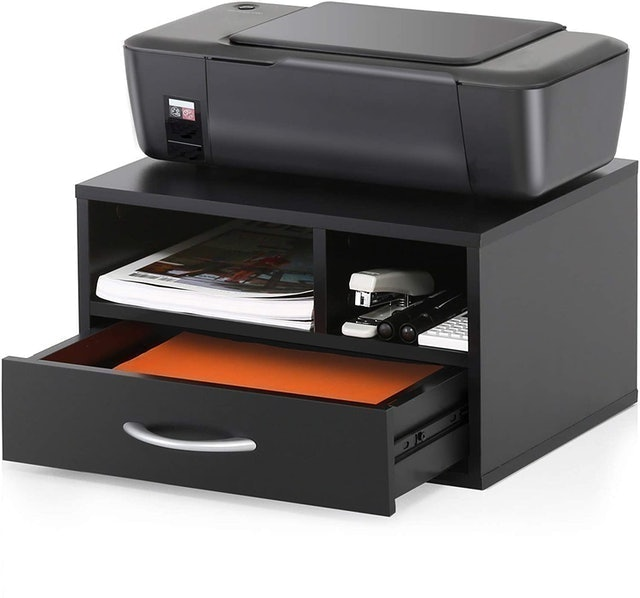 FITUEYES Wood Printer Stands With Drawer 1