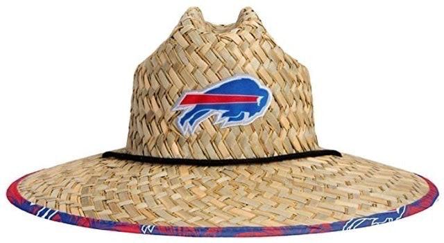 Foco Men's Team Logo Floral Straw Sun Hat 1