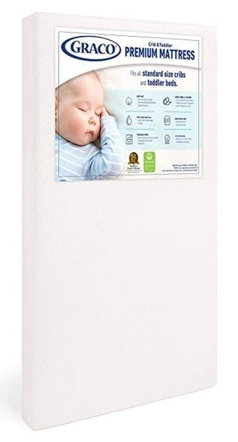 Graco Premium Foam Crib and Toddler Mattress 1