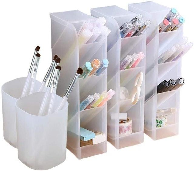 Marbrasse 5-Piece Desk Organizer 1