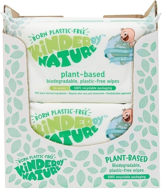 Jackson Reece Store  Kinder by Nature Plant-Based Baby Wipes  1