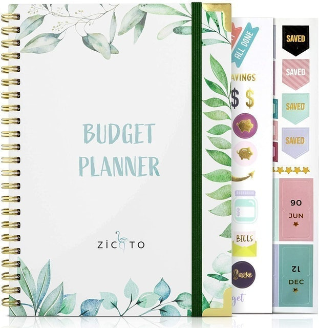 Zicoto Simplified Monthly Budget Planner 1