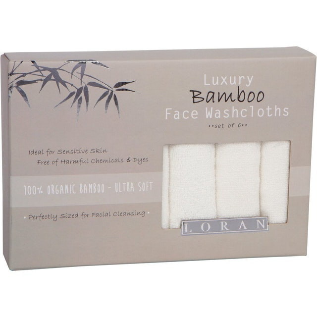 Loran Luxury Bamboo Facial Washcloths 1
