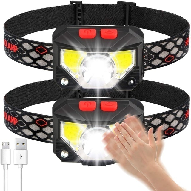Soft Digits Rechargeable Headlamp 1