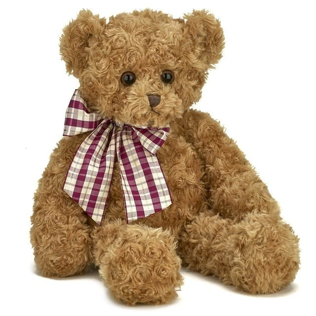 Bearington Collection Wuggles Plush Teddy Bear 1