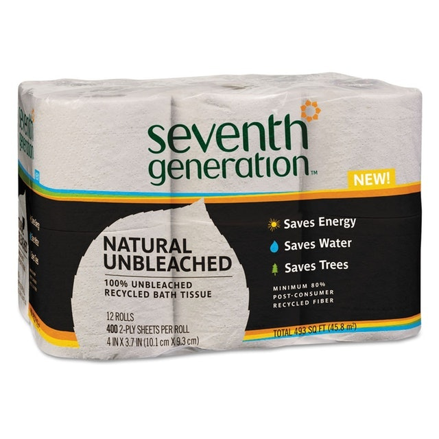 Seventh Generation Recycled Unbleached Bathroom Tissue 1