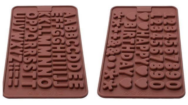 Inn Diary Silicone Letter Number Molds 1