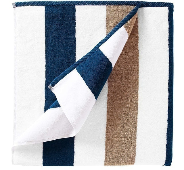 Laguna Beach Textile Company  Oversize Plush Cabana Towel 1