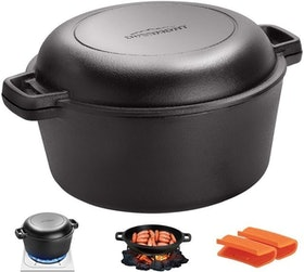 Top 10 Best Dutch Ovens for Camping in 2021 (Lodge, Calphalon, and More) 5