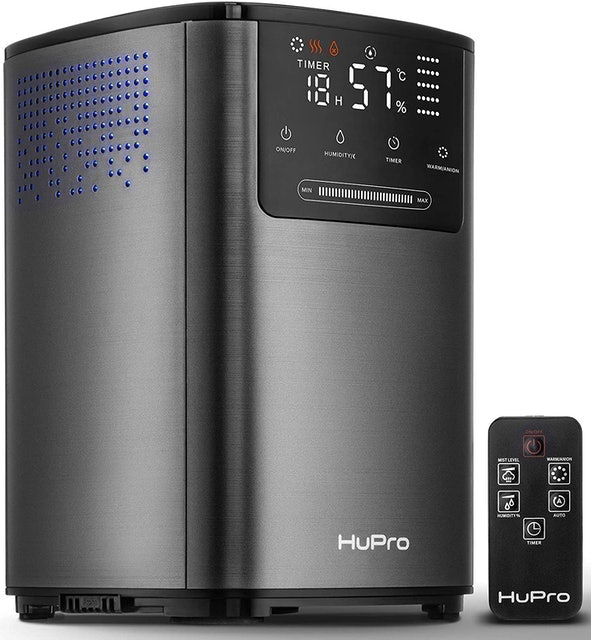 Hupro  Premium Ultrasonic Cool and Warm Mist Humidifier  1