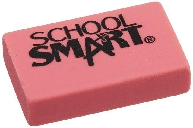 School Smart  Latex Free Block Eraser 1