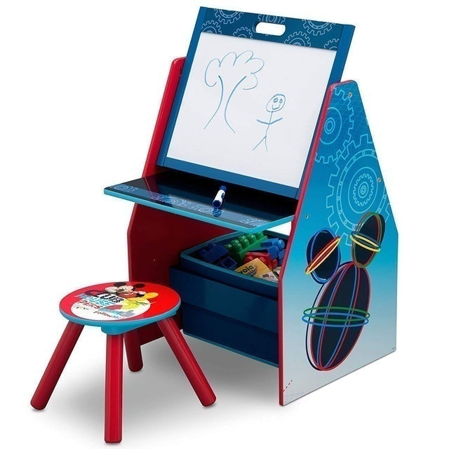 Delta Children Kids Easel and Play Station 1