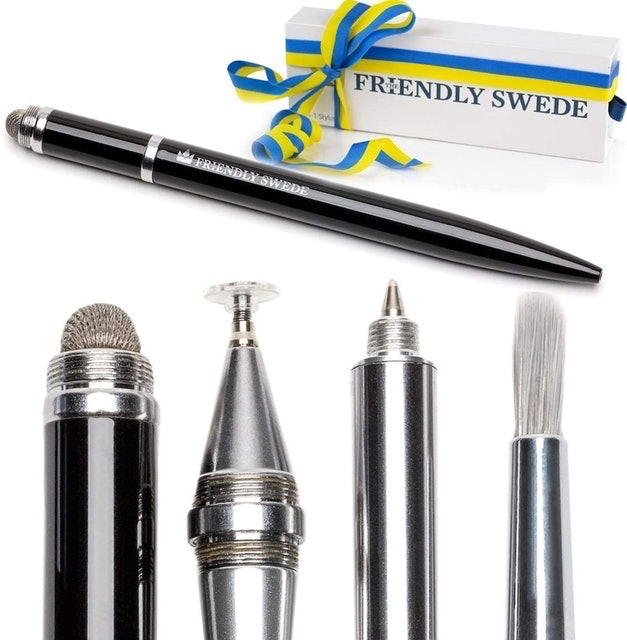 The Friendly Swede Capacitive 4-in-1 Stylus Pen 1