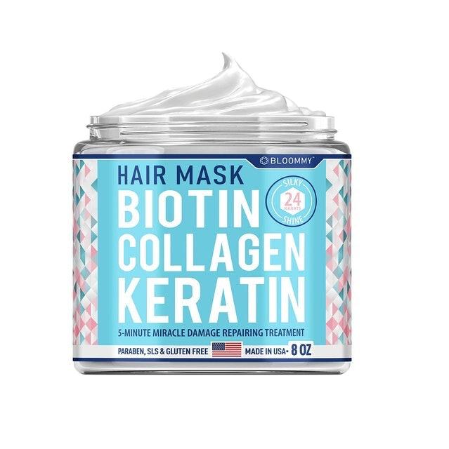 BLOOMMY Hair Mask Biotin Collagen Keratin  1