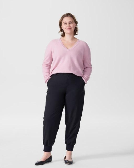 Universal Standard Katla V Neck Sweater 1