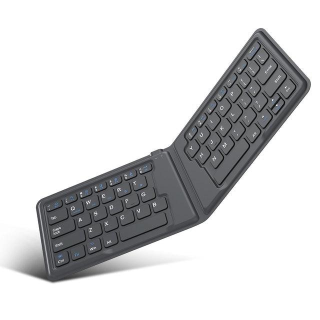 MoKo Ultra-Thin Folding Wireless Bluetooth Keyboard 1