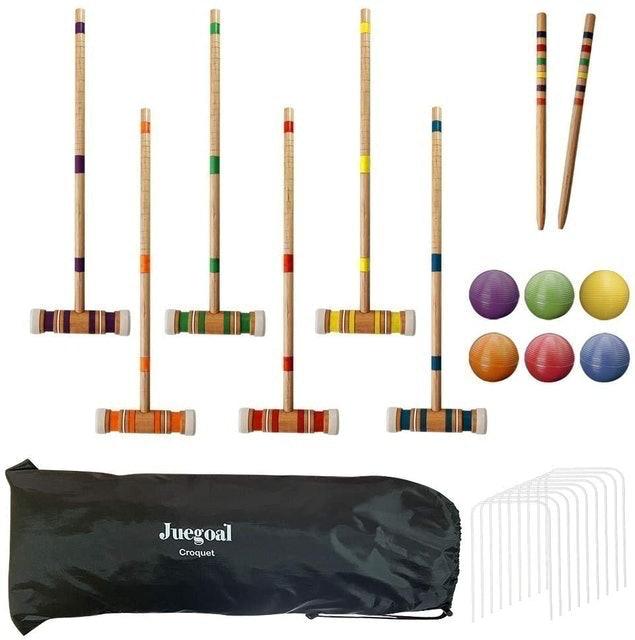 Juegoal Six Player Croquet Set 1