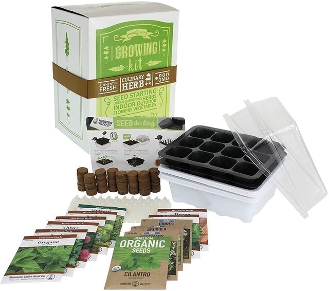 Mountain Valley Seed Company Culinary Herb Growing Kit 1