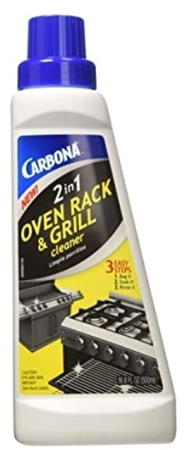 Carbona 2-in-1 Oven Rack and Grill Cleaner 1