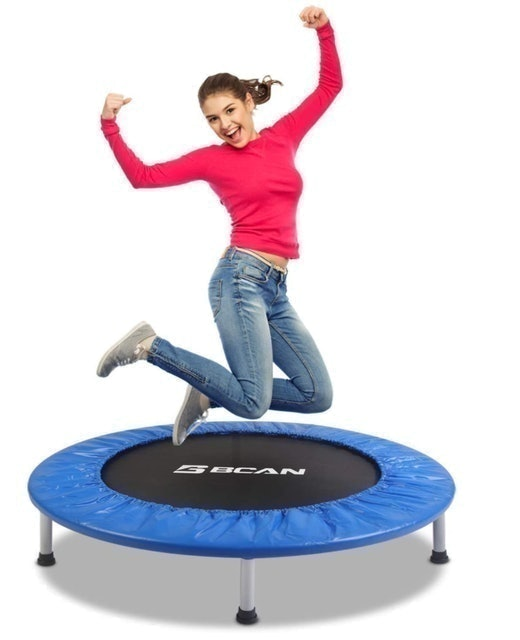 BCAN 38-Inch Fitness Trampoline 1
