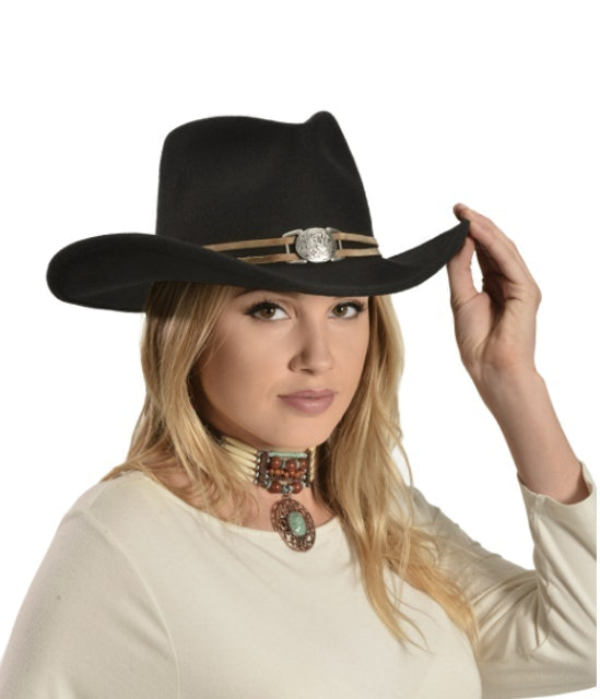 Master Hatters Juniper Wool Felt Cowgirl Hat 1