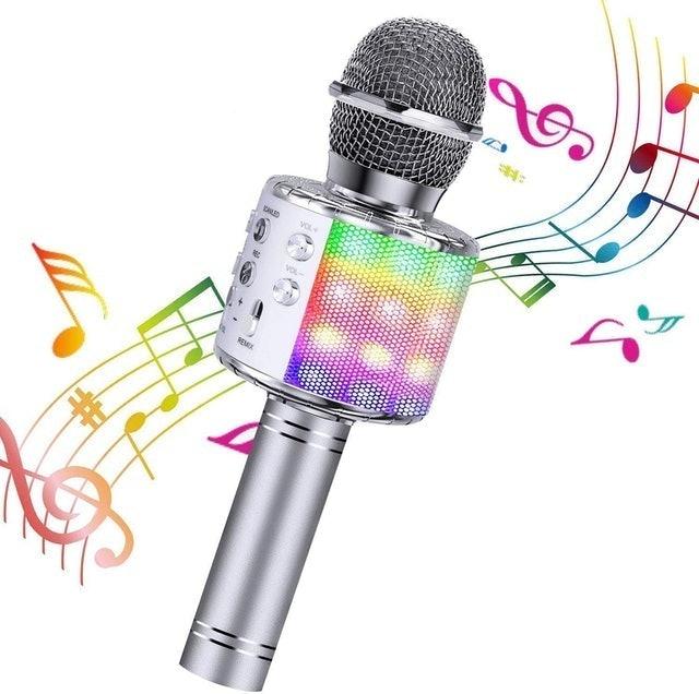BlueFire Wireless 4 in 1 Bluetooth Karaoke Microphone 1