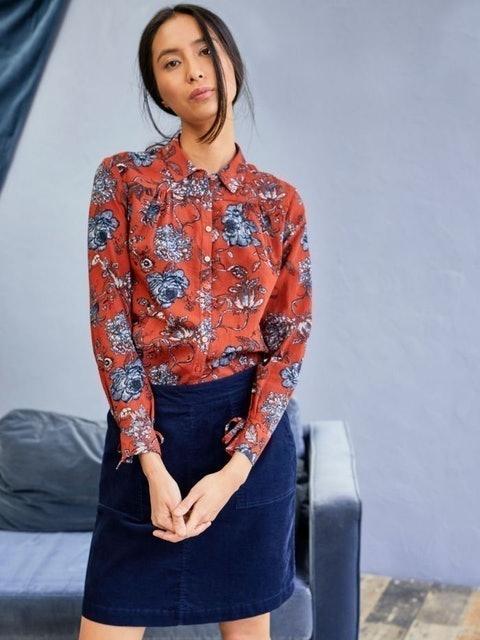 thought Omelia Organic Cotton Cord Mini Skirt 1
