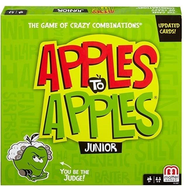Mattel Games Apples to Apples Junior 1