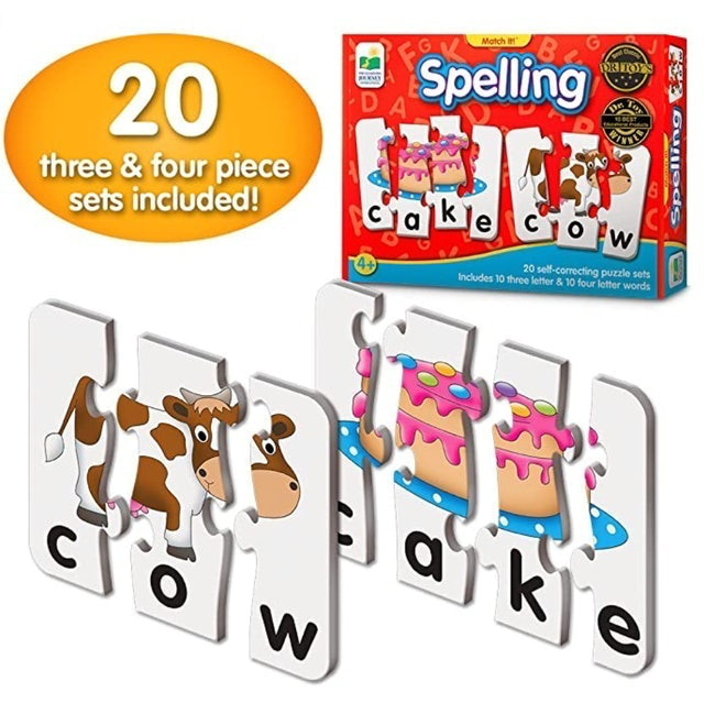 The Learning Journey Match It! Spelling 1