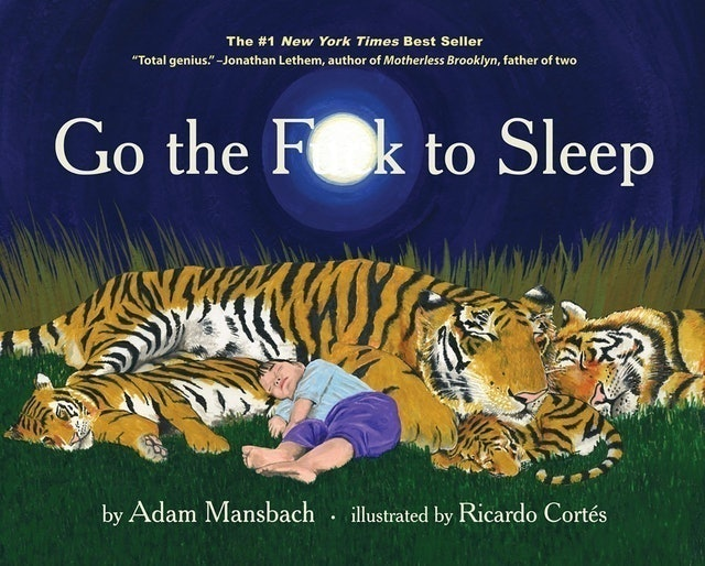 Adam Mansbach, Ricardo Cortés Go the F**k to Sleep 1