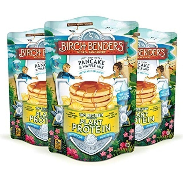 Birch Benders Plant Protein Pancake & Waffle Mix 1