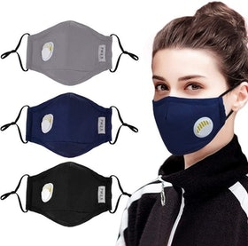 Top 10 Best Reusable Air Pollution Masks in 2020 (Base Camp, Coxeer, and More) 1