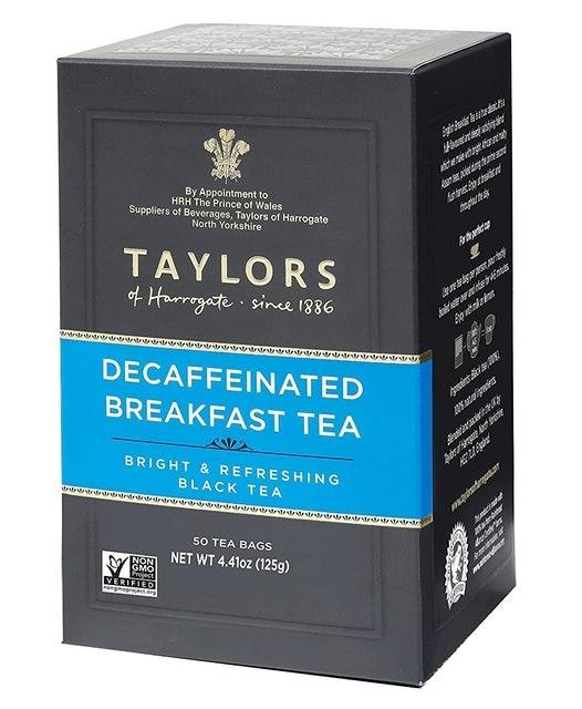 Taylors of Harrogate Decaffeinated Breakfast Tea 1