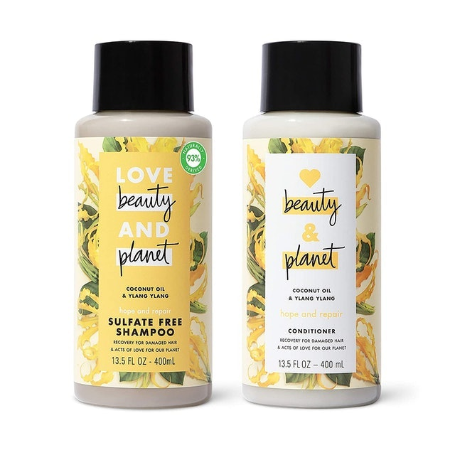 Love Beauty & Planet Hope and Repair Shampoo and Conditioner 1