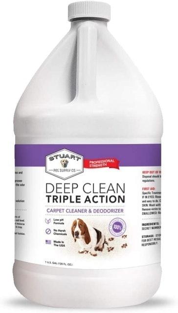 Stuart Pet Supply Deep Clean Carpet Cleaner and Deodorizer 1