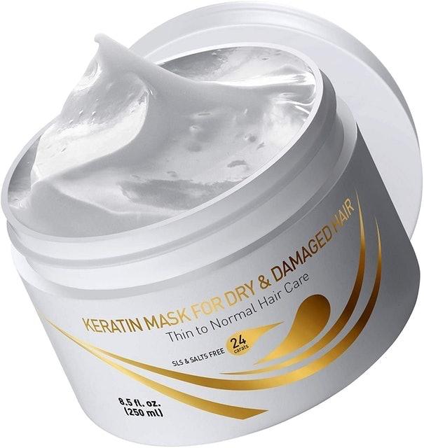 Vitamins Hair Cosmetics  Keratin Mask for Dry and Damaged Hair 1