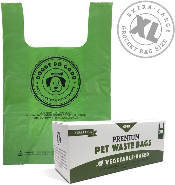 Doggy Do Good  XL Biodegradable Poop Bags  1