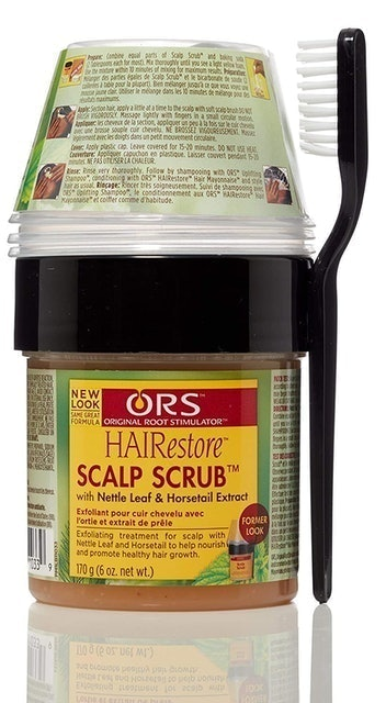 ORS HAIRestore Scalp Scrub with Nettle Leaf and Horsetail Extract 1
