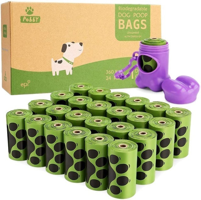 PobbY Biodegradable Dog Poop Bags 1