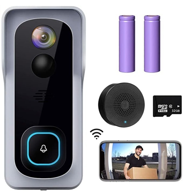 XTU Wireless Doorbell Camera With Chime 1