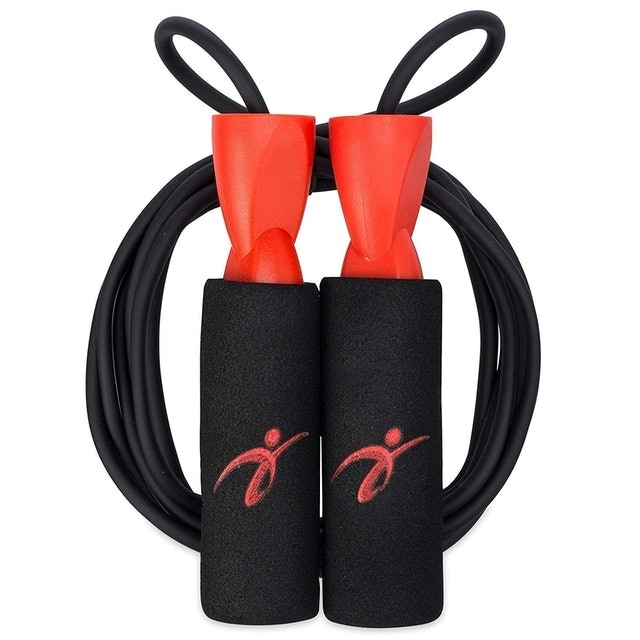 Fitness Factor Adjustable Jump Rope with Carrying Pouch 1